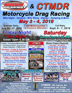 Mooresville, NC Motorcycle Drag Racing