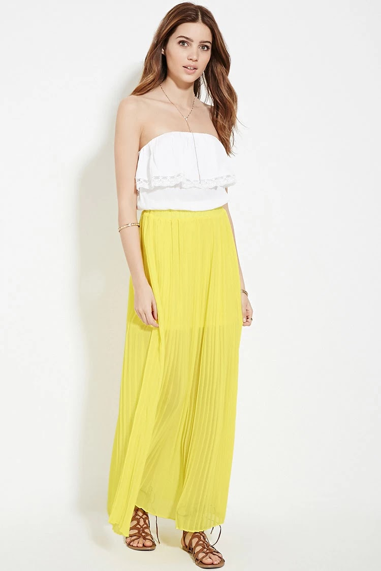 799f8101f 6 faldas largas plisadas para primavera