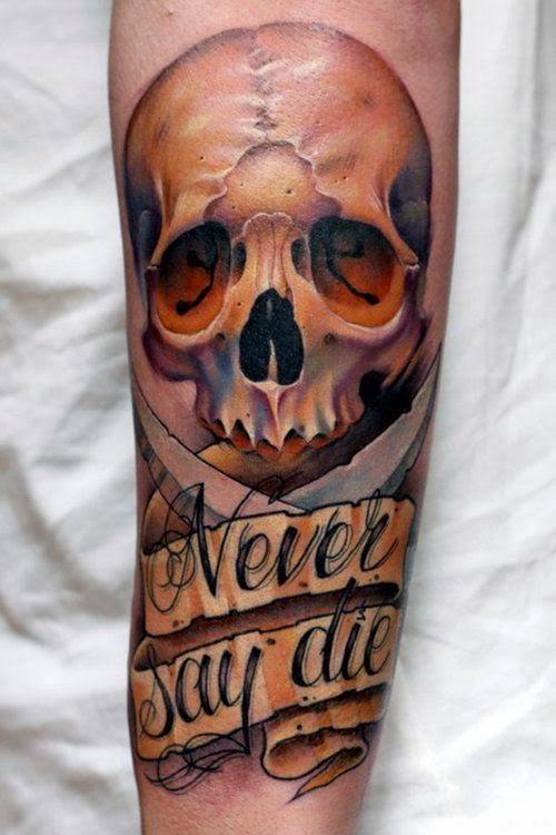 tatuajes de calaveras espectaculares