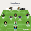Super Eagles XI: Okoye, Aina, Iheanacho Start, Musa, Onuachu Benched in 3-5-2 Formation