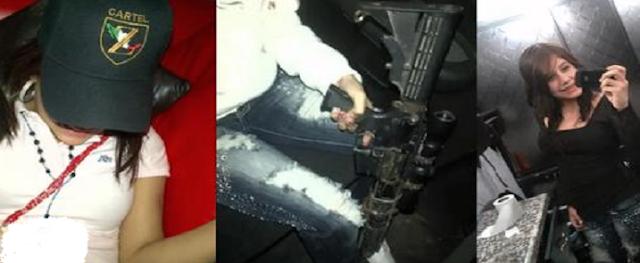 """Fotos; Así es como se exhibía en redes La """"Comandante Kampanita"""" la sicaria al servicio de Los Zetas"""