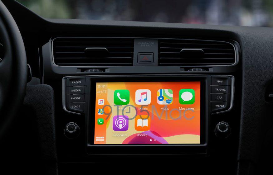 iOS 14 CarPlay 車載系統可更換桌布和切換深色模式