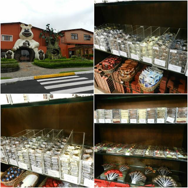 Chocolates de Gramado - Lugano