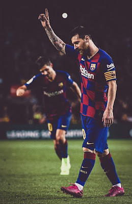 There is only one G.O.A.T ❤️ #messi