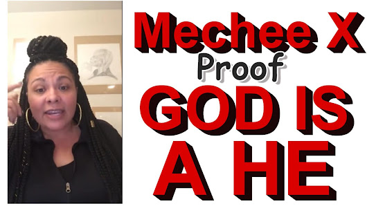 GOD IS A HE: Pastor Cinque vs Female ex pastor named Mechee X who doesn't believe in the Bible anymore and now fully engaged in Voodoo Worship!!