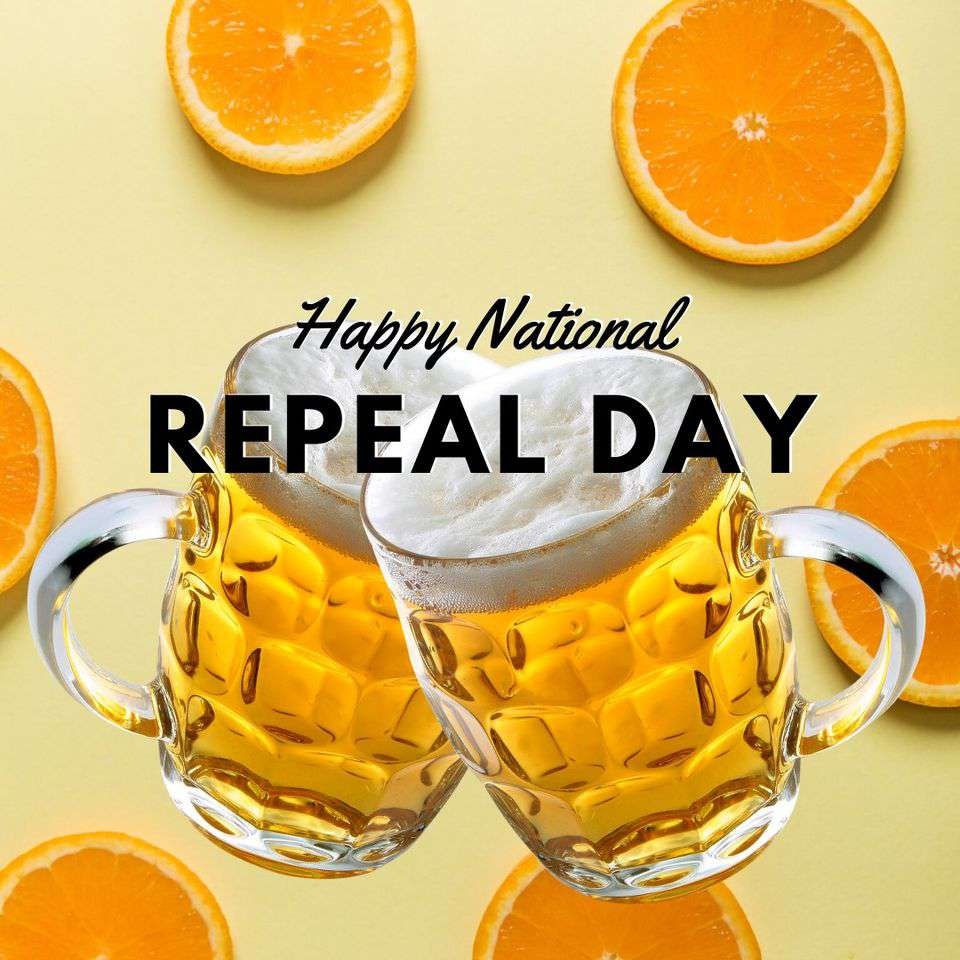 National Repeal Day Wishes Unique Image