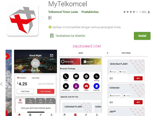 Cek Kuota Internet Telkomsel Melalui Aplikasi