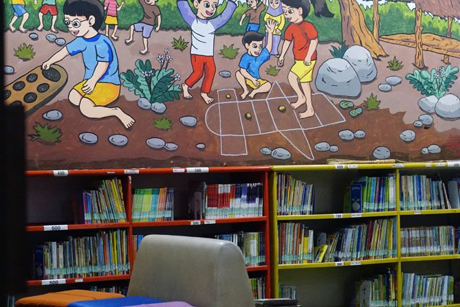 Ruang anak di perpustakaan daerah Wonosobo