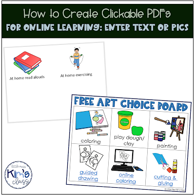Creating Clickable PDFs for Online Learning