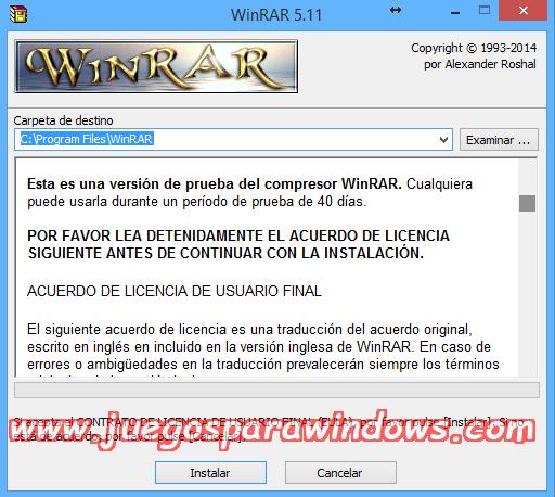 WinRAR v5.40 FINAL Full PC ESPAÑOL (32 y 64 Bits) 2