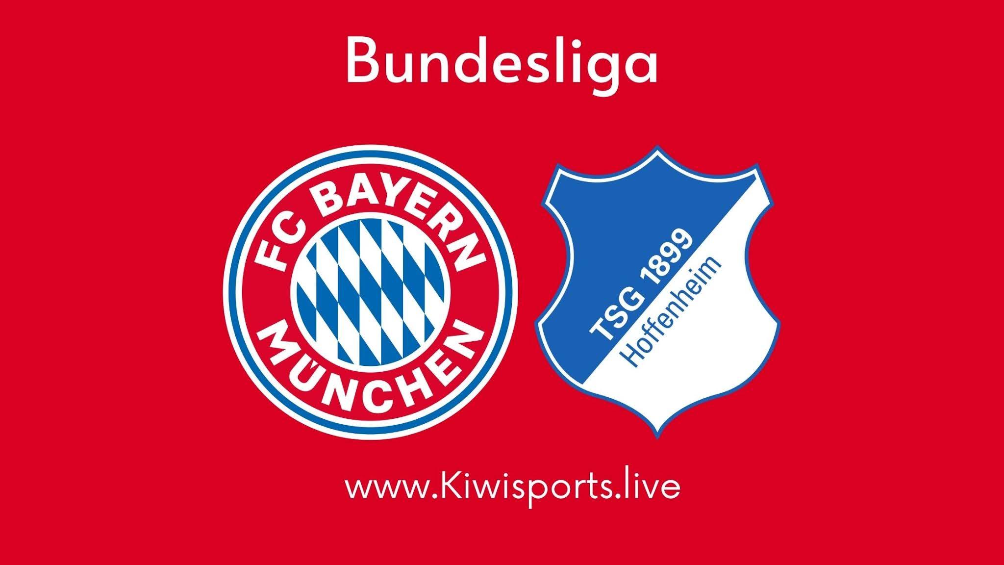 Bayern Munich vs Hoffenheim live stream