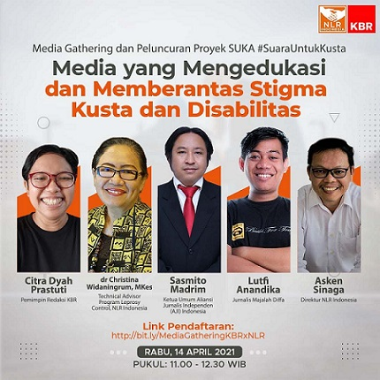 Media Gathering Bertema Penyakit Kusta