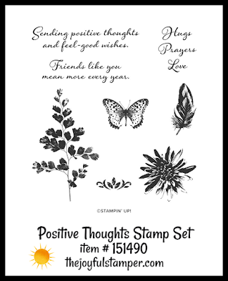 Stampin' Up! Positve Thoughts stamp set | Nicole Steele The Joyful Stamper
