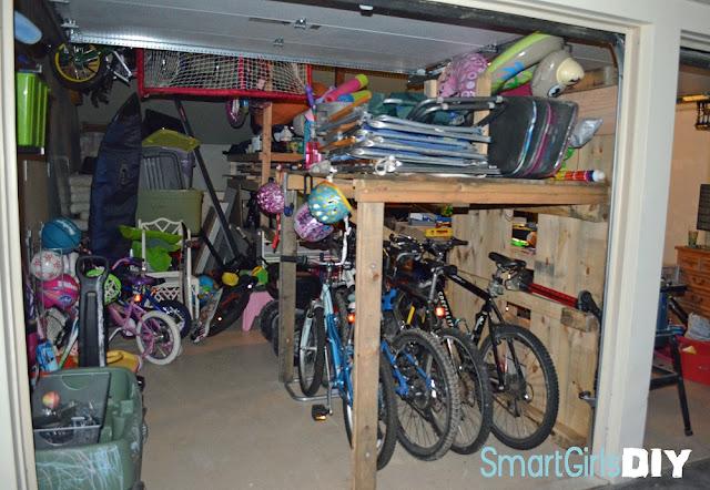 cheap garage storage ideas