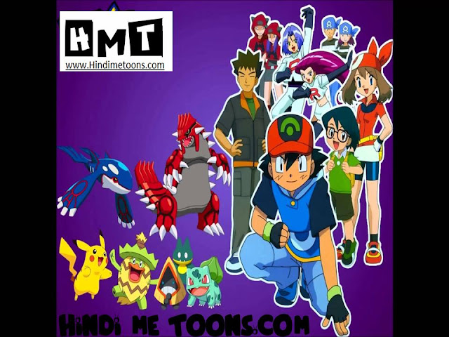 Pokemon advanced HINDI episodes