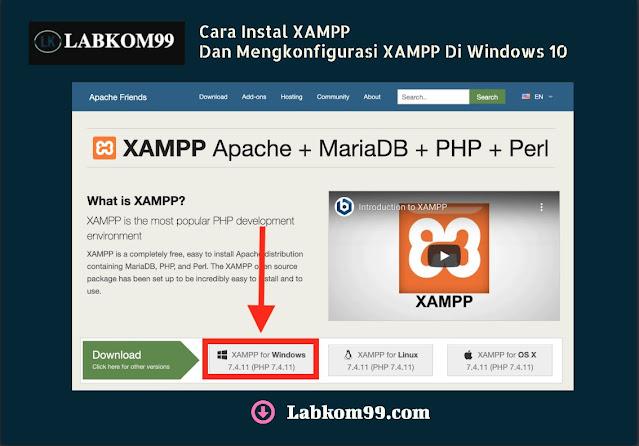 Cara Instal XAMPP Dan Mengkonfigurasi XAMPP Di Windows 10