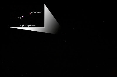 "Alpha-1/2 Capricorni, ""Algiedi"", Multiple Star in Capricornis"