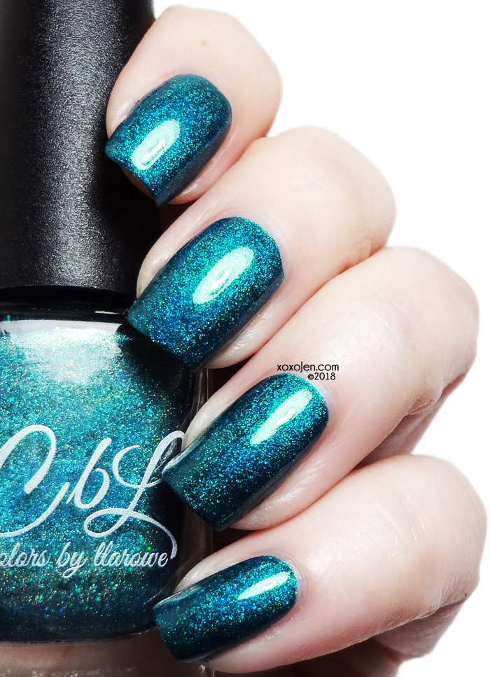 xoxoJen's swatch of Colors By Llarowe Numb