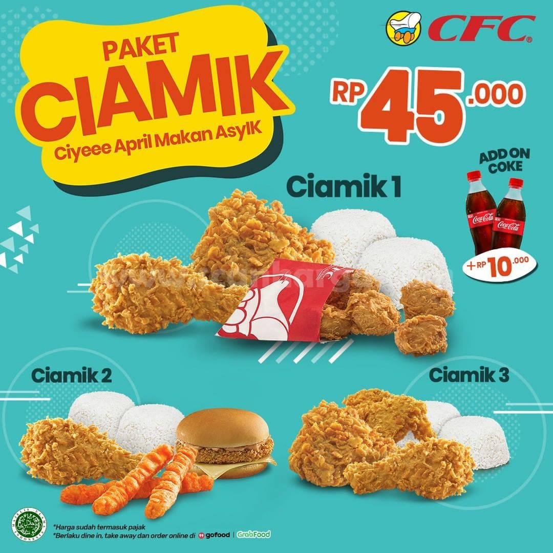 CFC Promo Paket CIAMIK Harga cuma Rp 45.000