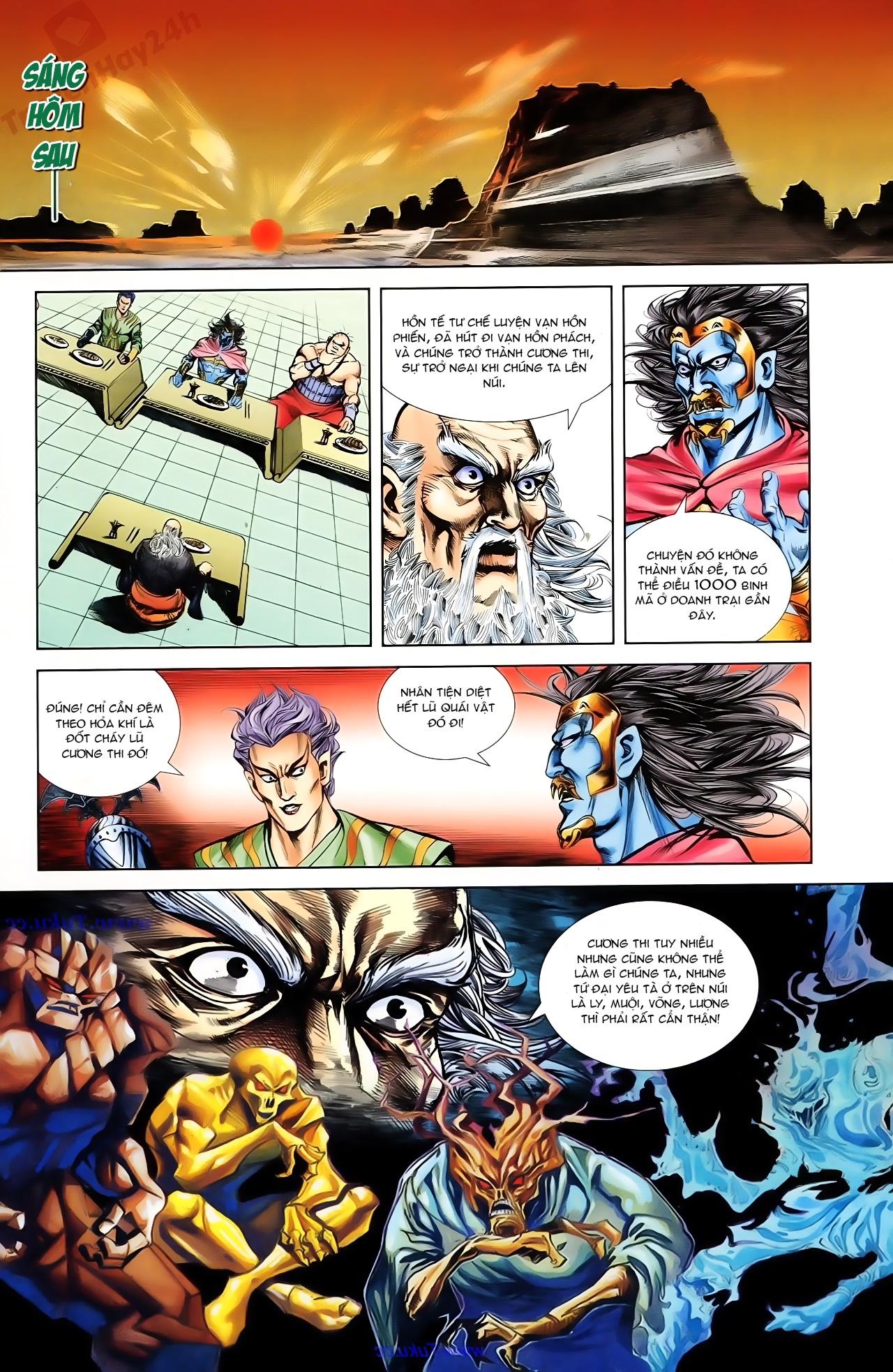 Cơ Phát Khai Chu Bản chapter 76 trang 9