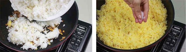 Filipino Annatto Fried Rice (Pinoy Yellow Rice)