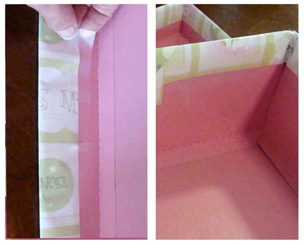 basit şekilde hediye kutusu yapımı
