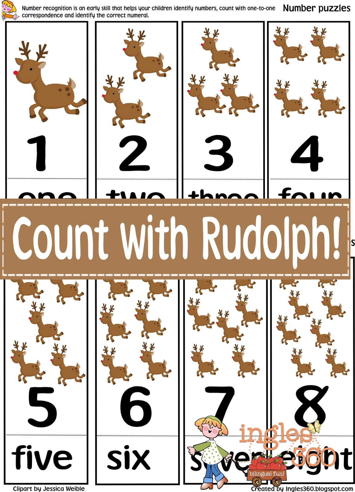 Count With Rudolph