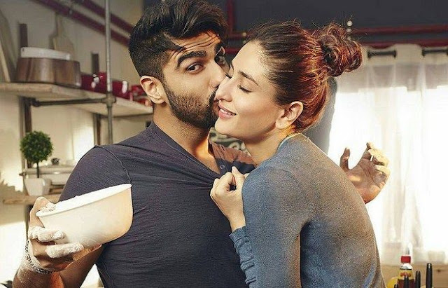 Ki and Ka share a romantic moment, starring Kareena Kapoor and Arjun Kapoor, Directed by R. Balki