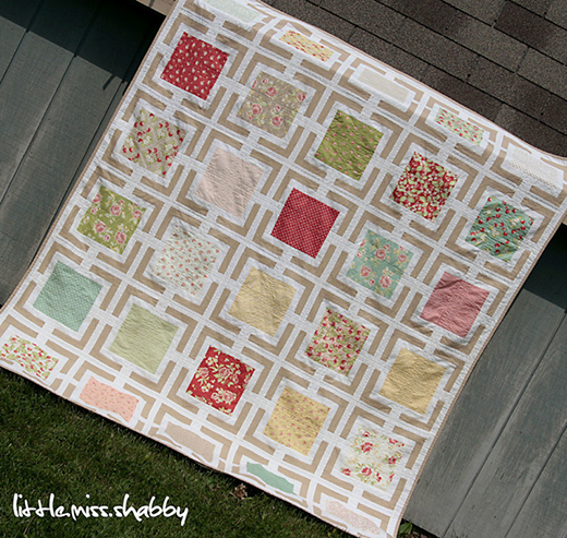 Picture Frames Quilt Free Pattern designed by Corey Yoder of Coriander Quilts
