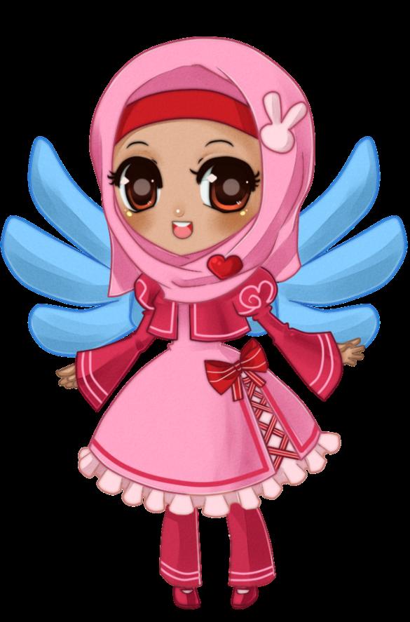 41+ Gambar Kartun Hijab Modern Sahabat Terupdate