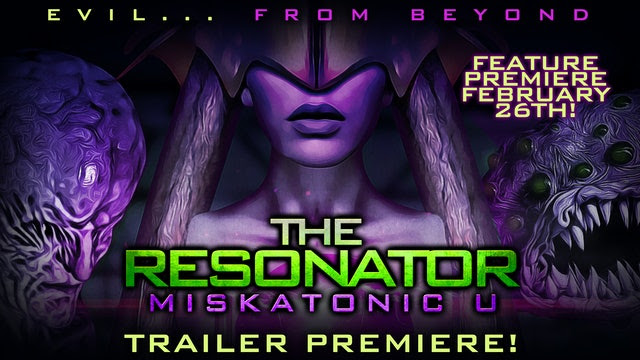 Full Moon Features presenta el tráiler de 'The Resonator: Miskatonik U'