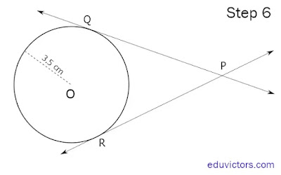 Class 10 Maths Activity- To verify that the lengths of tangents to a circle from some external point are equal. (#class10MathsActivity)(#class10Maths)(#eduvictors)