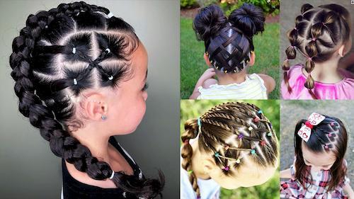 تسريحات شعر للبنات الصغار 2021