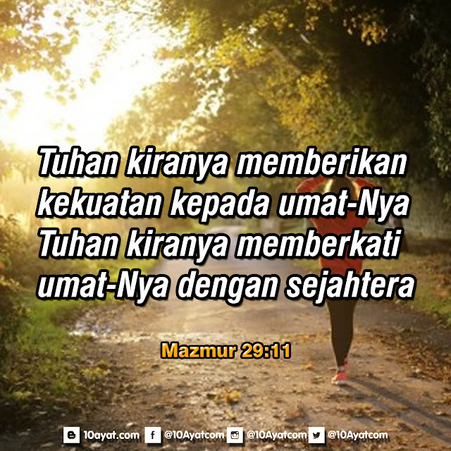Mazmur 29:11