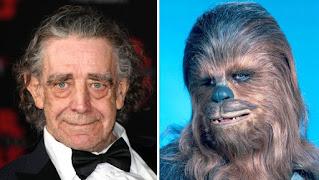 Peter Mayhew. Chewbacca. Celebrities we lost in 2019. Rachel Hancock @retrogoddesses