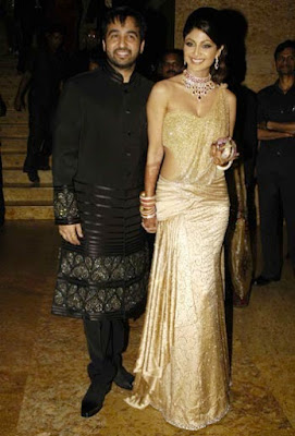 shilpa-shetty-wedding-reception-look