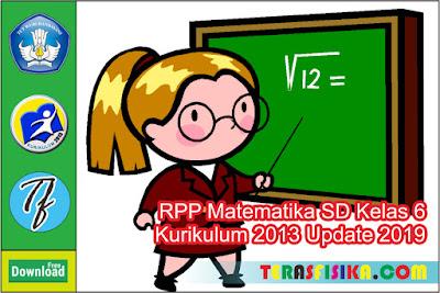 RPP Matematika SD Kelas 6 K13