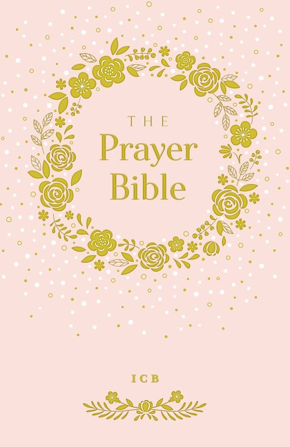 Pink and Gold ICB Prayer Bible For Children #ICBPrayerBible