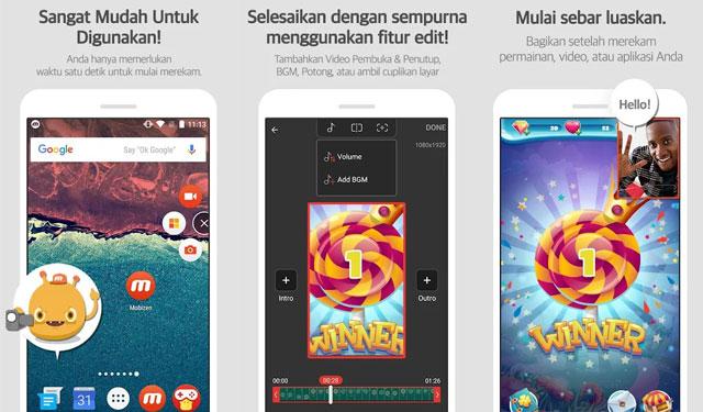 Mobizen Screen Recorder Perekam Layar Android