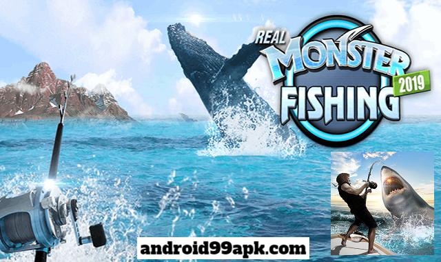 لعبة صيد السمك Monster Fishing 2020 v0.1.128 مهكرة بحجم 90 MB للأندرويد