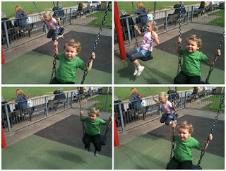 Top Ender and Big Boy on the Swings