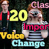 20 important voice change ||Madhyamik test 2018 (95 %)
