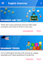 English Grammar Handbook Screenshot