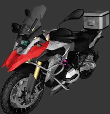 GTA SAN - BMW GS1200