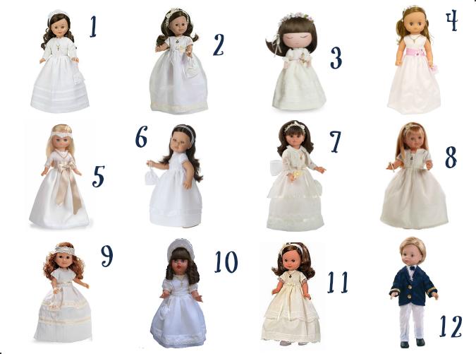 comprar muñecas de comunión
