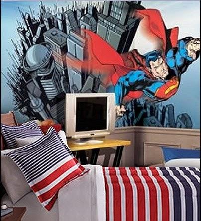Dormitorio temático Superman