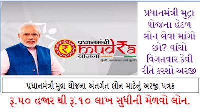 Pradhan Mantri MUDRA Yojana 2020.