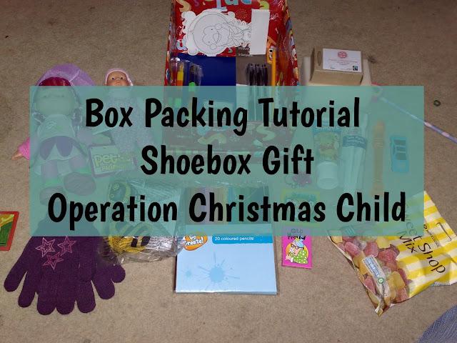 OCC shoebox packing tutorial header