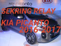 sekring dan relay KIA PICANTO 2016-2017
