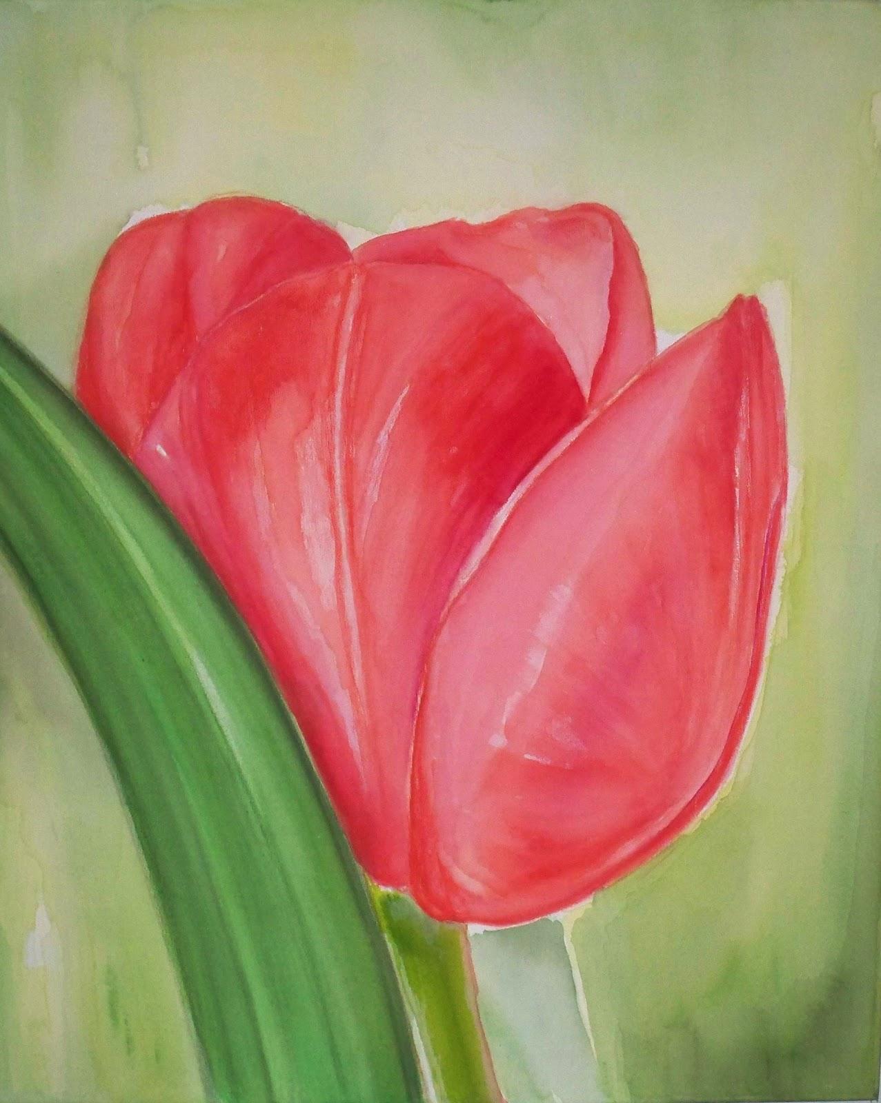 Pinturas De Flores En Acrilico Flores De Papel